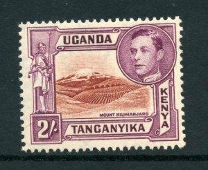 KUT 1938 KGVI 2/- perf 13¾x13¼ SG 146b mint