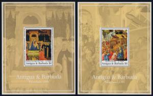 Antigua 1511-2 MNH Christmas, Art, Adoration of the Magi
