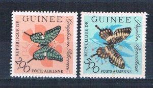 Guinea C48-49 MNH Butterflies 1963 (HV0003)