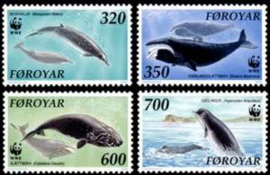 Faroe Islands #208-211 Fa205-208 MNH CV$7.50