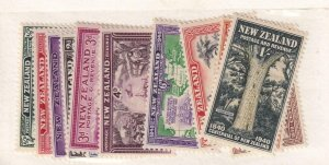 NEW ZEALAND # 229-241 MISSING # 236 VARIOUS ISSUES CAT VALUE $85