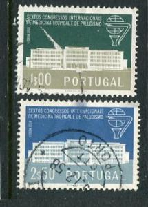 Portugal #836-7 Used (Box1)