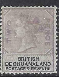 Bechuanaland 1887 SC 12 MLH SCV $125.00