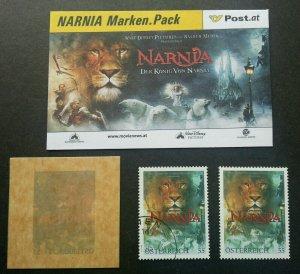 Austria Movie 2005 Lion Polar Bear Story (stamp lot) CTO MNH