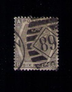 Great Britain Sc #60 (P12) Used Scott CV $240.00