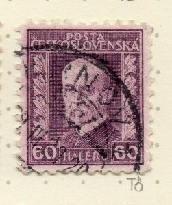 Czechoslovakia 1926-27 Issue Fine Used 60h. NW-148576
