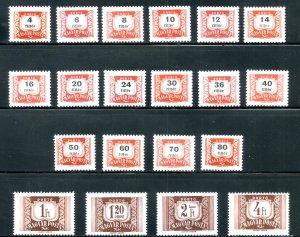 RK37583 HUNGARY J246-65 MNH BIN $4.00 (6)