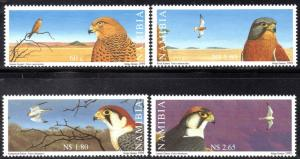 Namibia - 1999 Falcons Set MNH** SG 836-839