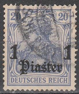 Germany Off In Turkey #45 F-VF Used (S4261)