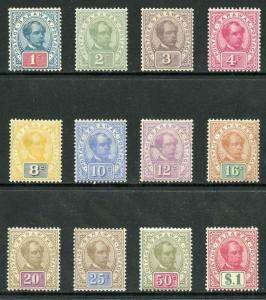 Sarawak SG36/47 M/Mint (1c tone spots) Postage Postage