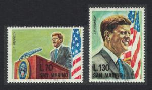 San Marino 1st Death Anniversary of John F Kennedy President of USA 2v
