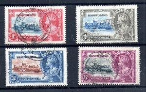 Basutoland 1935 Silver Jubilee fine CDS used set SG11-14 WS19065
