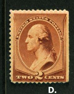 1883 Sc 210  MNH full original gum CV $130