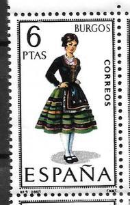 Spain 1400 Burgos Costume single MNH