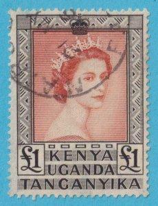 KENYA UGANDA TANGANYIKA 117 USED NO FAULTS EXTRA FINE