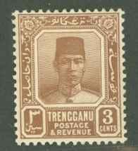 Malaya Trengganu 23 Mint F-VF HR