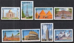 Dominica 1358-1365 MNH VF