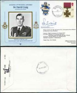 CDM22b MRAF Sir David Craig Signed by Himself