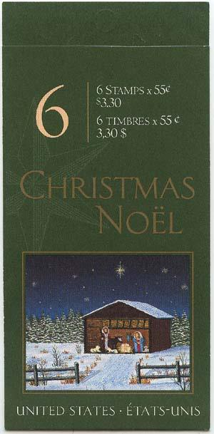 Canada - 2000 55c Christmas Booklet Complete #BK234b
