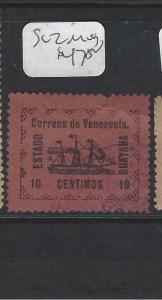 VENEZUELA GUYANA    (PP2203B)  SC 2    BOAT  WITH SEAL  MOG