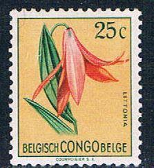 Belgian Congo 266 MNH Flower Littonia 1952 (B0401)+