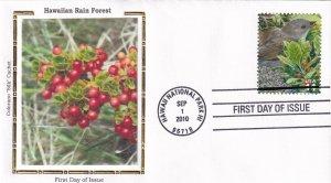 2010, Hawaiian Rain Forest, Colorano Silk, FDC (E11973)