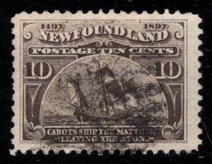 Newfoundland Scott 68 Used 10 cents  P349