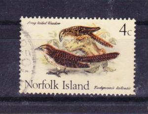 NORFOLK ISLAND 1970 Birds 4c Cuckoo used