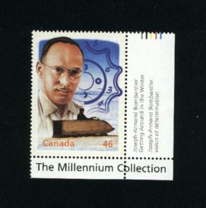 Canada #1832d    Mint VF NH  2000  PD 1.00