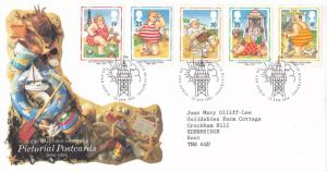 GB 1994 Pictorial Postcards FDC Blackpool CDS VGC