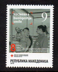 MACEDONIA - 2018 - RED CROSS - RED CROSS DAY - 8th MAY -