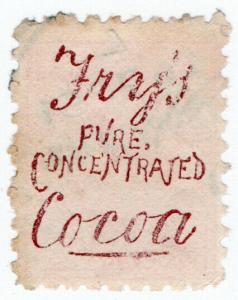 (I.B) New Zealand Postal : Adson (Fry's Cocoa)
