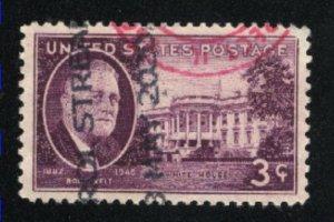 USA 932   used  1945-46 PD