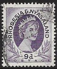 Rhodesia & Nyasaland 148 Used - Elizabeth II
