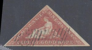 Cape of good hope #1a VF USED C$350,00