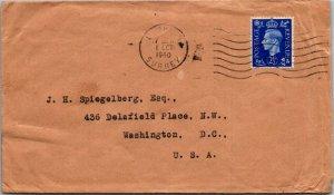 Dorking UK > Washington DC 1940 cover
