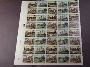 U.S.# 2620-2623(2623a)-MINT/NEVER HINGED--PANE OF 40--VOYAGES OF COLUMBUS--1992