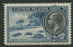 Cayman Islands #90 KGV MH  Scott CV. $4.00
