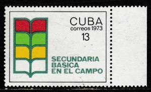 Cuba  1973  Scott No. 1803  (N**)