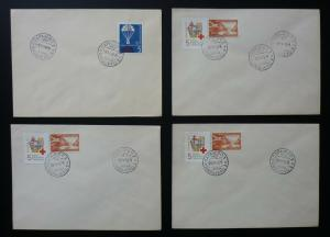 Yugoslavia Bosnia Sarajevo - 4 Red Cross Covers ! N8