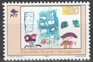 Bosnia & Herzegovina #225  MNH  (K496)
