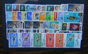 Grenada 1967 1968 $5 Statehood World Fair Scouts Milk Paintings Olympics Used