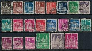 Germany #634-8,40-1,3-4,6-9,51-5,7-60  CV $14.15   (#660 short perf)