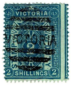 (I.B) Australia - Victoria Revenue : Stamp Duty 2/-