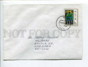 413105 ESTONIA 1993 year Nuia real posted COVER