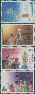 Fiji 1990 SG819-822 Christmas Carols set MNH