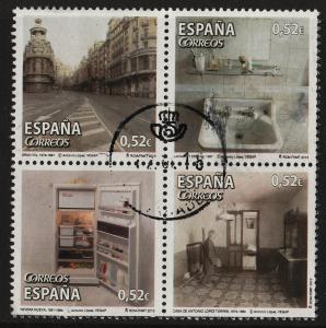 Spain 2013 Contemporary Art / Antonio López (4/4) Block 4 USED