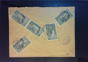 Guadeloupe 1907 Cover to USA - Z929