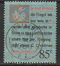 1988 New Zealand - Sc 911 - used VF - 1 single - Christmas Carols