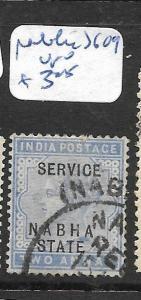 INDIA NABHA (P1706B) QV 2A   SG 09  VFU